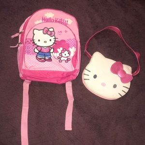 👛HELLO KITTY BACKPACK AND PURSE👛